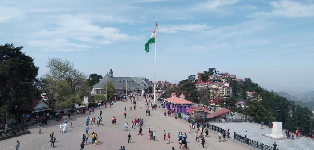 Ridge Maidan Tour Shimla travelhyme