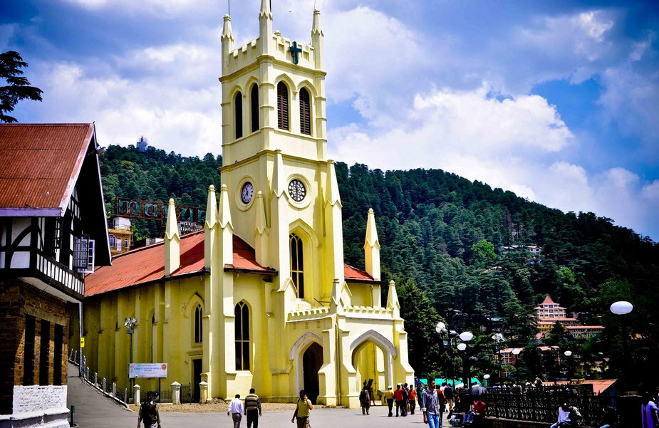 Second oldest church in North India shimla travelhyme